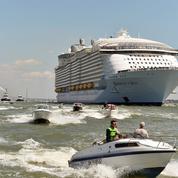 Le gigantesque Harmony of the Seas a quitté Saint-Nazaire