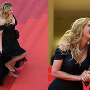 Julia Roberts, rebelle aux pieds nus sur le tapis rouge cannois