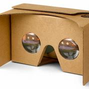 La réalité virtuelle en carton de Google