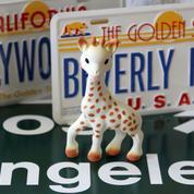 Sophie la Girafe fait un carton à l'étranger