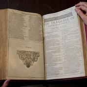 La première anthologie de Shakespeare vendue 2 millions d'euros