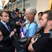 Emmanuel Macron: «Le meilleur moyen de se payer un costard, c'est de travailler»