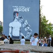 David Bowie immortalisé sur une fresque murale à Sarajevo