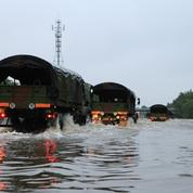 Inondations : les «naufragés de l'A10» secourus par l'armée