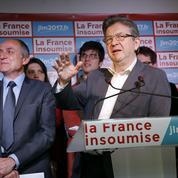 Mélenchon lance sa campagne avec des insoumis mais sans les partis