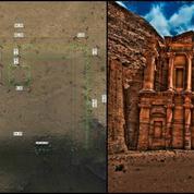 Découverte d'une structure antique à Petra en Jordanie