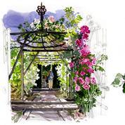 Les splendides aquarelles d'un poète botaniste
