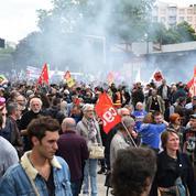 Grèves : forte mobilisation émaillée de violences dans toute la France