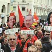 Loi El Khomri: Gattaz dénonce (photos à l'appui) les «méthodes détestables» de la CGT