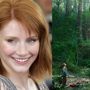 Bryce Dallas Howard: après les dinosaures, elle rencontre Elliott le dragon