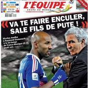 Les précédents dérapages en équipe de France
