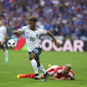 Kingsley Coman, joueur le plus rapide de l'Euro 2016