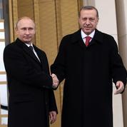 Erdogan veut se réconcilier avec la Russie