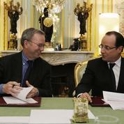 François Hollande réunit les grands patrons du Web pour un déjeuner à l'Élysée