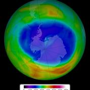 Signaux positifs pour la couche d'ozone