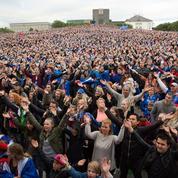 À Reykjavik, au cœur du séisme islandais qui a frappé l'Europe du foot