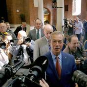 Sa mission accomplie, Nigel Farage s'en va