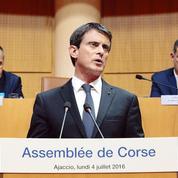 Corse: Valls laisse les nationalistes sur leur faim