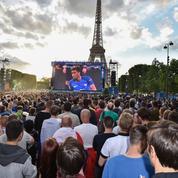 La fan zone de Paris a fêté son millionième visiteur