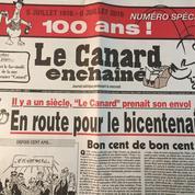 Le Canard enchaîné fête ses 100 ans
