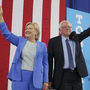 Bernie Sanders se rallie à Hillary Clinton