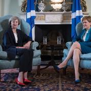 Theresa May en Écosse défend l'unité du Royaume-Uni
