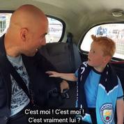 La rencontre magique d'un jeune supporteur avec son idole Pep Guardiola