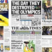 Dopage : la presse se déchaîne contre la décision du CIO