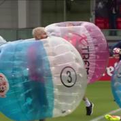 Les stars de Barcelone s'essaient au bubble bump