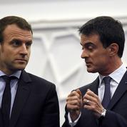 Règlement de comptes entre soutiens de Valls et de Macron