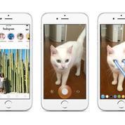 Instagram copie Snapchat avec des photos éphémères