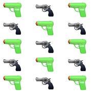 Apple va remplacer l'emoji revolver par un pistolet à eau