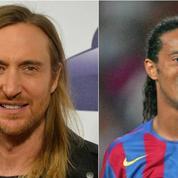 David Guetta s'associe à Ronaldinho pour un projet musical