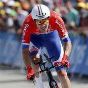 Un cycliste néerlandais abandonne ... comme prévu, après 10km de course