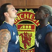 A peine arrivés en Angleterre, Ibrahimovic et Pogba se chambrent déjà