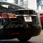 Une voiture Tesla prend feu lors d'un essai à Bayonne