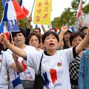 À Aubervilliers, 2.000 Chinois manifestent contre les violences