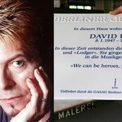 David Bowie: une plaque honore sa mémoire à Berlin
