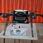 La livraison de pizzas par drone bientôt testée en France
