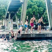 Les baignades urbaines sur le devant de la Seine