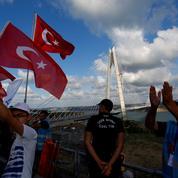 À Istanbul, Erdogan inaugure le super pont du Bosphore