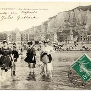 En 1903 les vacanciers paresseux plébiscitent la carte postale