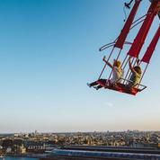Les plus hautes balançoires d'Europe s'installent à Amsterdam