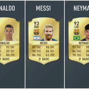 Ronaldo surpasse enfin Messi... dans Fifa 17