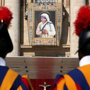 Mère Teresa a été déclarée sainte par le pape François
