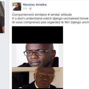 Sur Facebook, Anelka compare Thuram à l'infâme traître du film «Django unchained»
