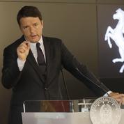 Renzi lance le pari risqué d'un référendum constitutionnel
