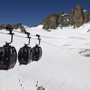 Les passagers bloqués dans des télécabines sur le Mont-Blanc ont été secourus