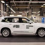 Volvo sort sa première voiture autonome grand public