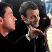 Valls et Macron se disputent l'héritage Rocard